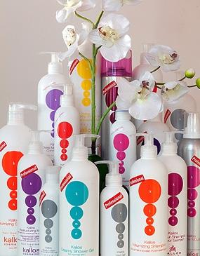 Профессиональная косметика для волос и тела Kallos Cosmetics (Венгрия)
