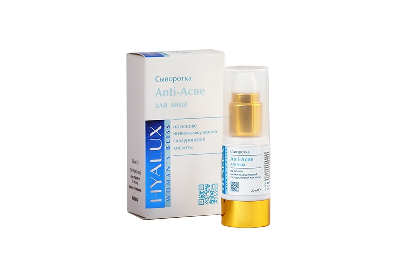 "Сыворотка anti-acne ""Hyalux"" / Anti Acne Serum"